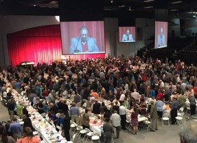 Record Crowd Attends Right to Life Banquet