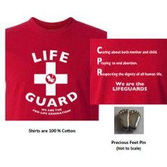 Order Your Shirt for 2018 Pro-Life T-Shirt Day (April 20, 2018)!